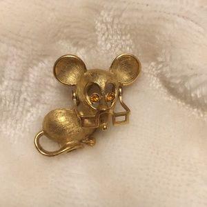 Vintage 70s Avon Mouse Pin
